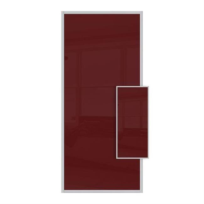 Domalti 1 panel maroon/maroon 36'' (CS)