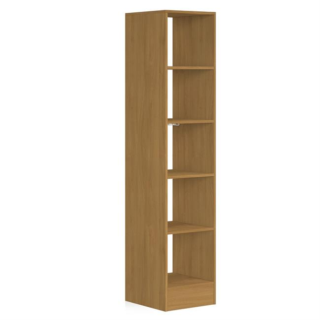 450 Tower (5 shelves) NO Hanger Bars Oak