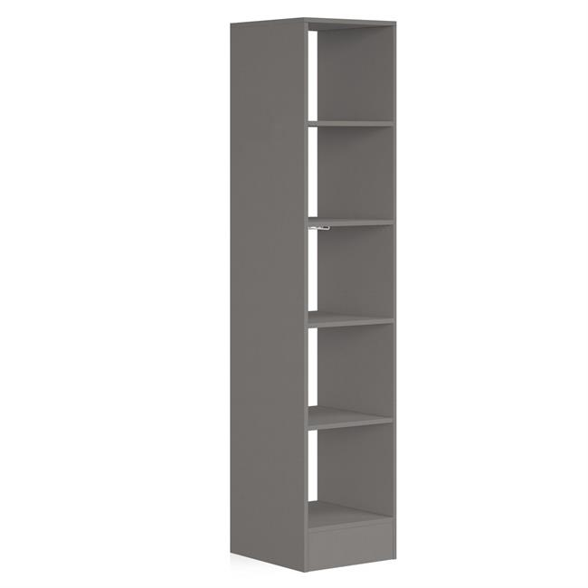 450 Tower (5 shelves) NO Hanger Bars Silver