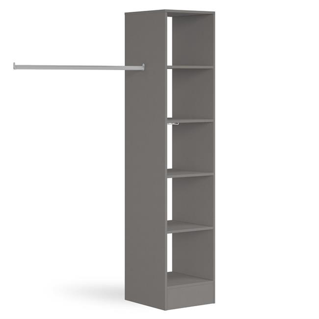 450 Tower (5 shelves) 1 Hanger Silver
