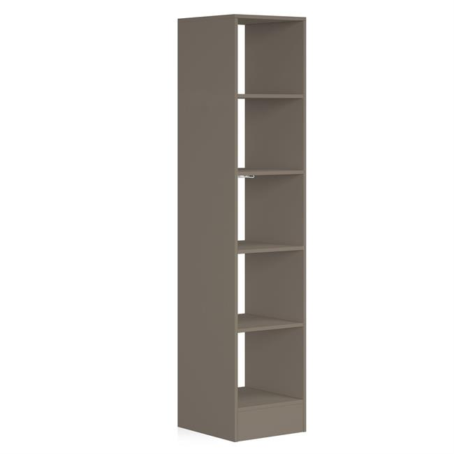 450 Tower (5 shelves) NO Hanger Bars Stone Grey