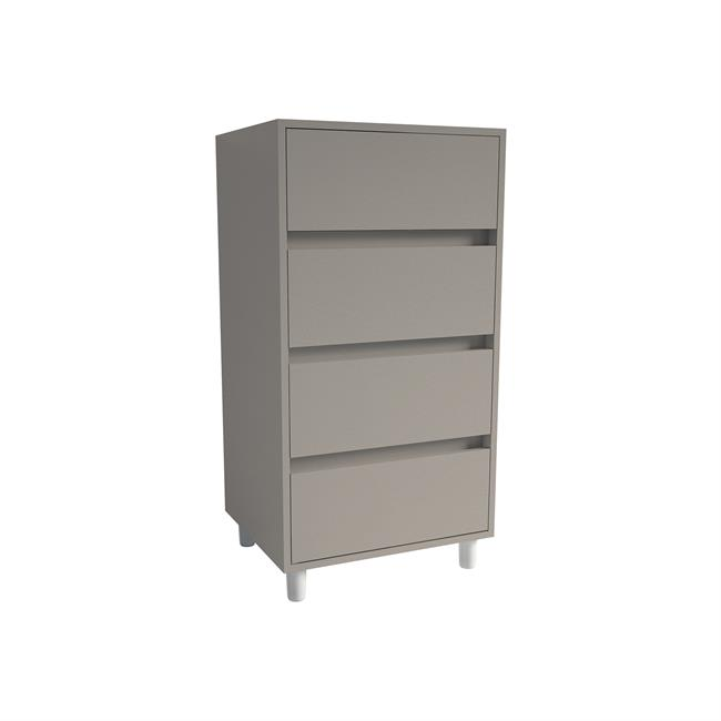 Tall Boy-Drawer pack 2 Stone Grey