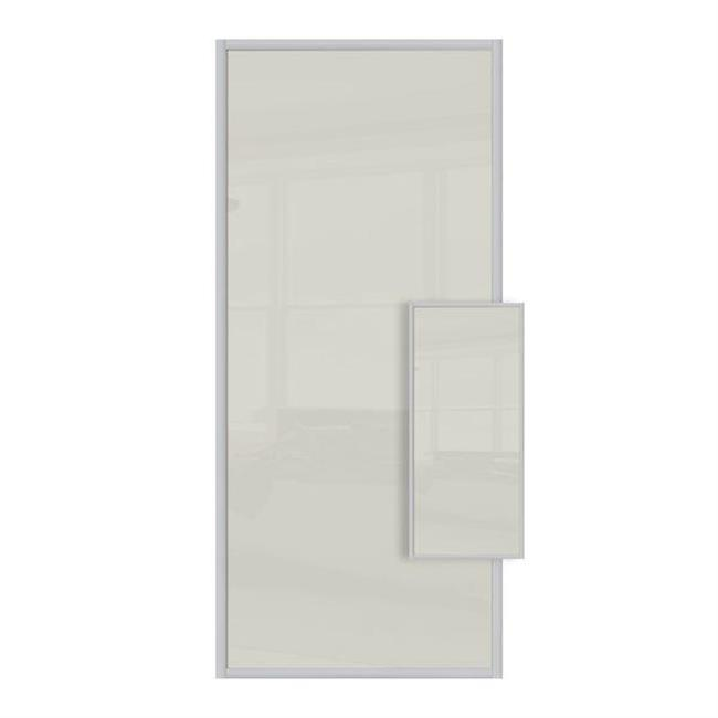 Domalti 1 panel Arctic White/ Arctic White 36'' (CS)